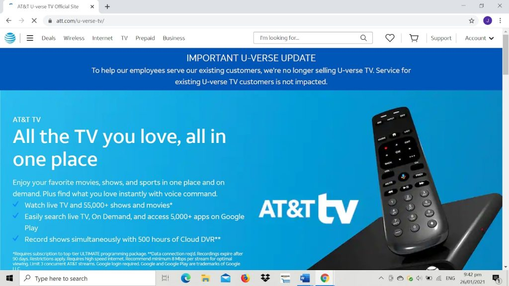 best cable provider for seniors at&t